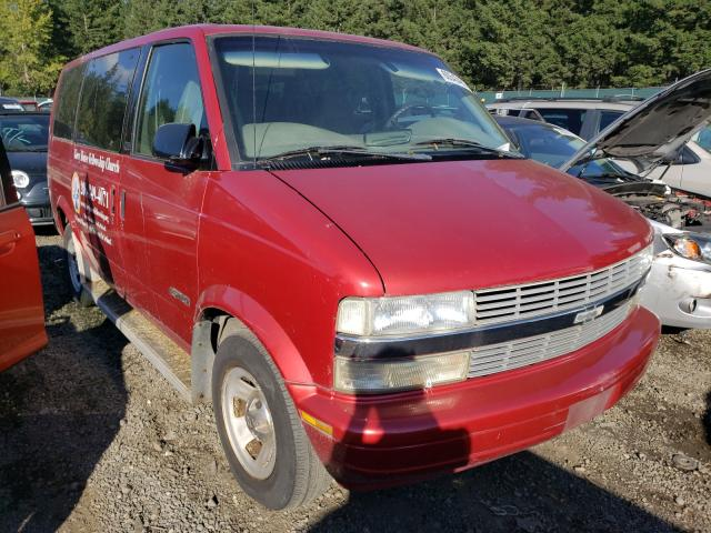 Salvage trucks for sale at Graham, WA auction: 2001 Chevrolet Astro