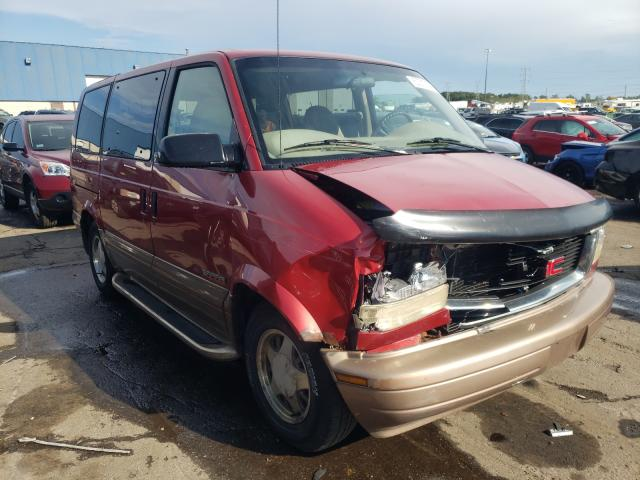 Salvage cars for sale from Copart Woodhaven, MI: 2000 GMC Safari XT