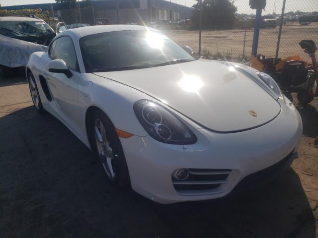 Upcoming salvage cars for sale at auction: 2014 Porsche Cayman