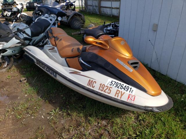 Salvage boats for sale at Davison, MI auction: 2000 Seadoo GTX