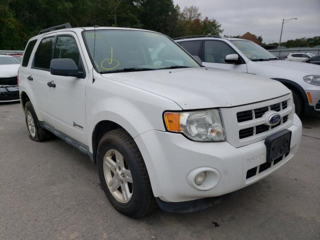 Salvage cars for sale from Copart Glassboro, NJ: 2012 Ford Escape Hybrid
