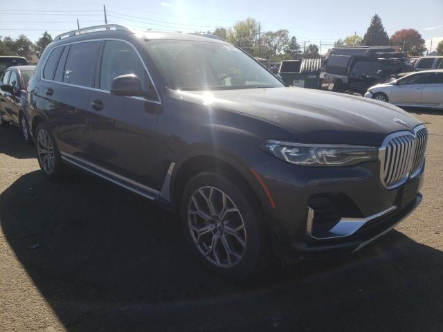 Salvage cars for sale from Copart Denver, CO: 2021 BMW X7 XDRIVE4