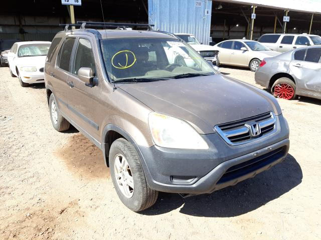 Salvage cars for sale from Copart Phoenix, AZ: 2002 Honda CR-V EX