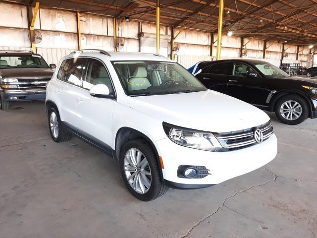 Salvage cars for sale at Phoenix, AZ auction: 2012 Volkswagen Tiguan S