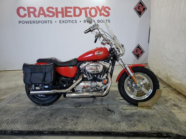 Harley-Davidson XL1200 CP salvage cars for sale: 2012 Harley-Davidson XL1200 CP