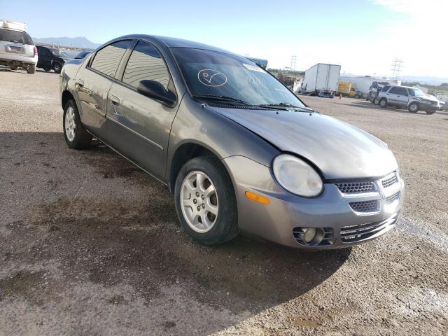 Salvage cars for sale at Tucson, AZ auction: 2005 Dodge Neon SXT