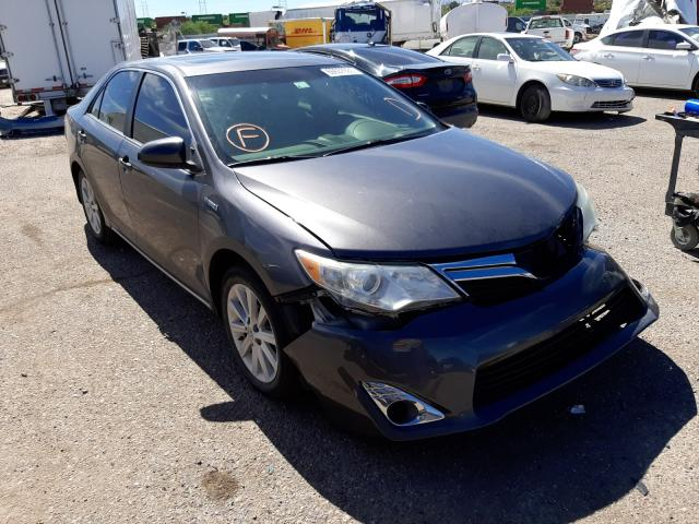 Salvage cars for sale at Tucson, AZ auction: 2014 Toyota Camry Hybrid