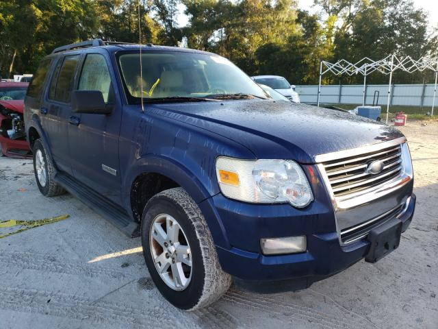 Salvage cars for sale from Copart Ocala, FL: 2007 Ford Explorer X