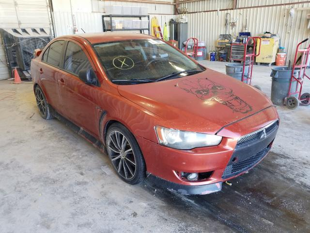 Salvage cars for sale from Copart Abilene, TX: 2011 Mitsubishi Lancer GTS