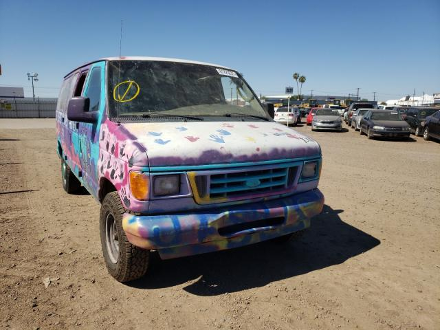 Salvage cars for sale from Copart Phoenix, AZ: 2003 Ford Econoline