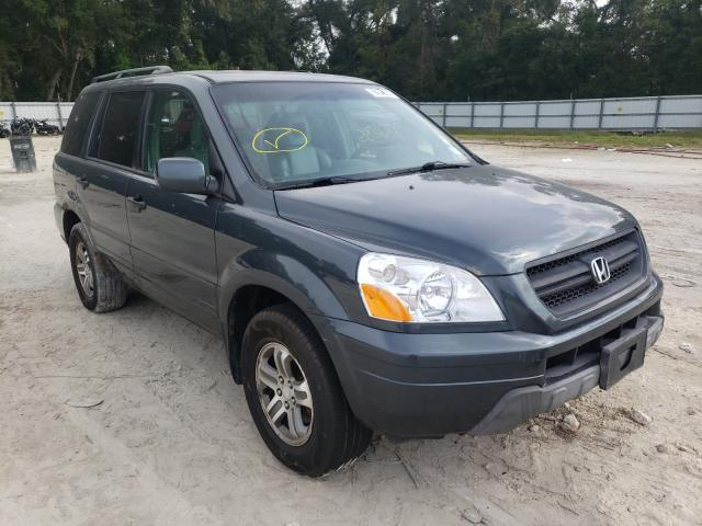 Salvage cars for sale from Copart Ocala, FL: 2004 Honda Pilot EXL