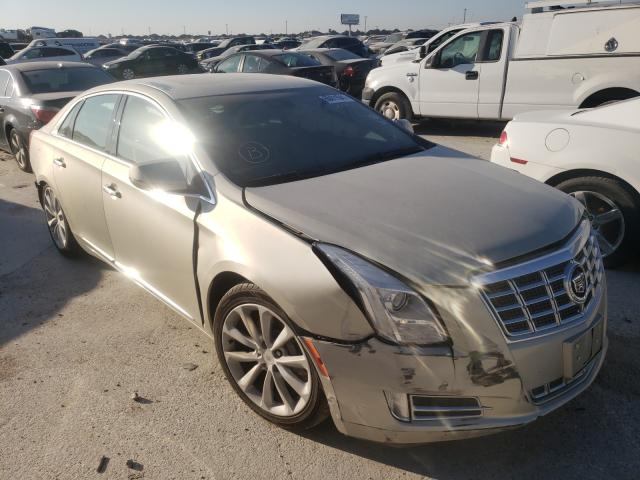 Salvage cars for sale from Copart Haslet, TX: 2013 Cadillac XTS Premium