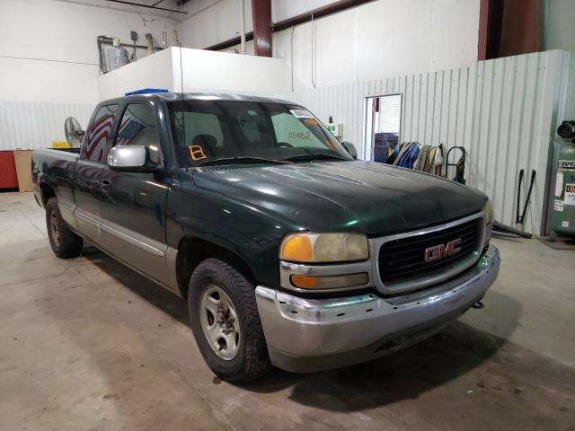 Salvage cars for sale from Copart Lufkin, TX: 2001 GMC New Sierra