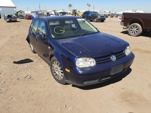 Salvage cars for sale from Copart Phoenix, AZ: 2003 Volkswagen Golf GLS T