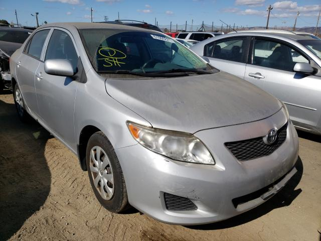 Salvage cars for sale from Copart San Martin, CA: 2009 Toyota Corolla BA