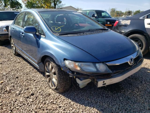 Salvage cars for sale from Copart Central Square, NY: 2010 Honda Civic EX
