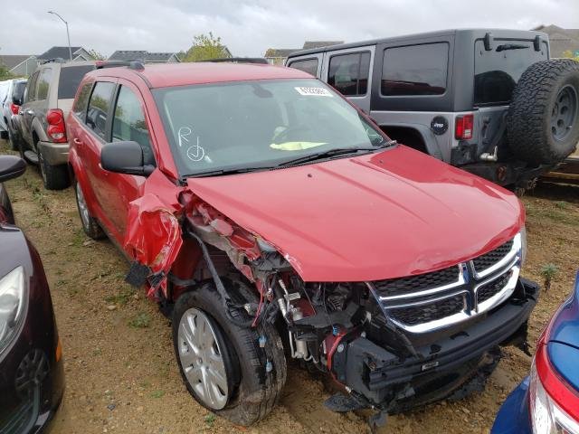 Salvage cars for sale from Copart Madison, WI: 2020 Dodge Journey SE