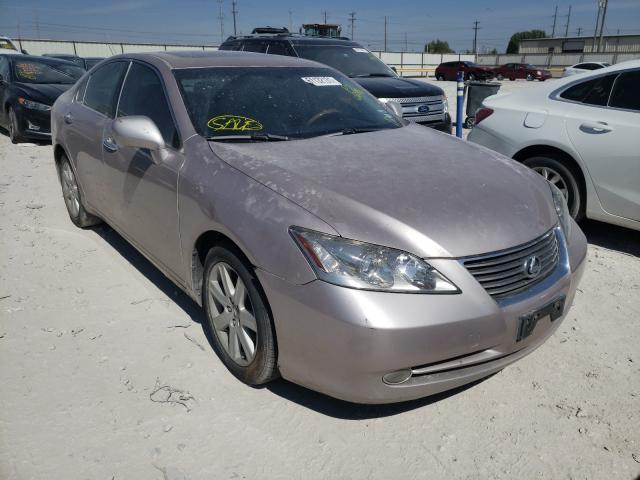Salvage cars for sale from Copart Haslet, TX: 2007 Lexus ES 350