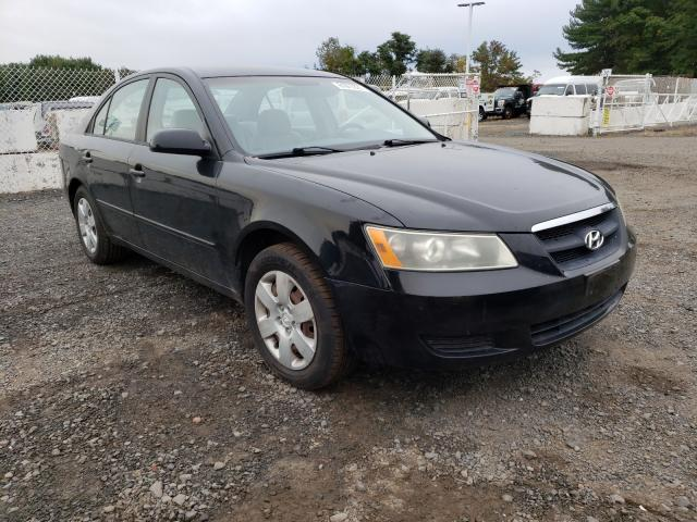 Salvage cars for sale from Copart East Granby, CT: 2007 Hyundai Sonata GLS