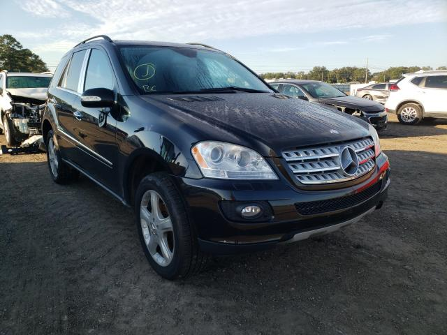 Mercedes-Benz salvage cars for sale: 2007 Mercedes-Benz ML 320 CDI
