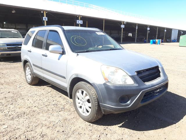 Salvage cars for sale from Copart Phoenix, AZ: 2006 Honda CR-V EX