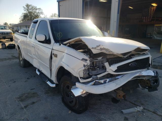 Salvage cars for sale from Copart Sikeston, MO: 2002 Ford F150