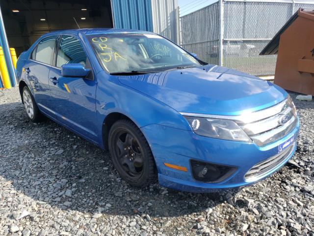 Vehiculos salvage en venta de Copart Elmsdale, NS: 2011 Ford Fusion SE