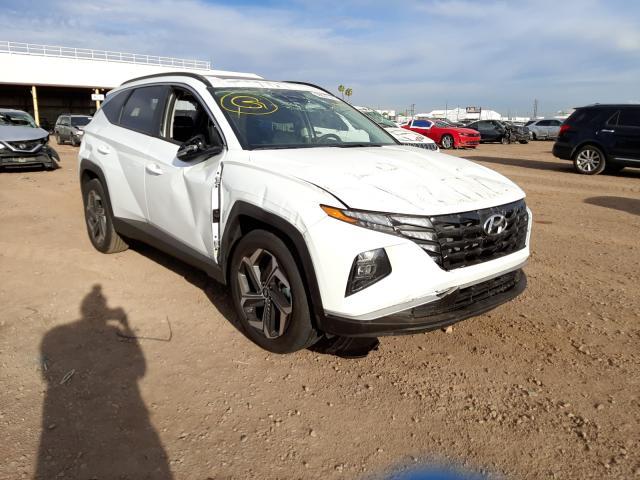 Salvage cars for sale from Copart Phoenix, AZ: 2022 Hyundai Tucson SEL