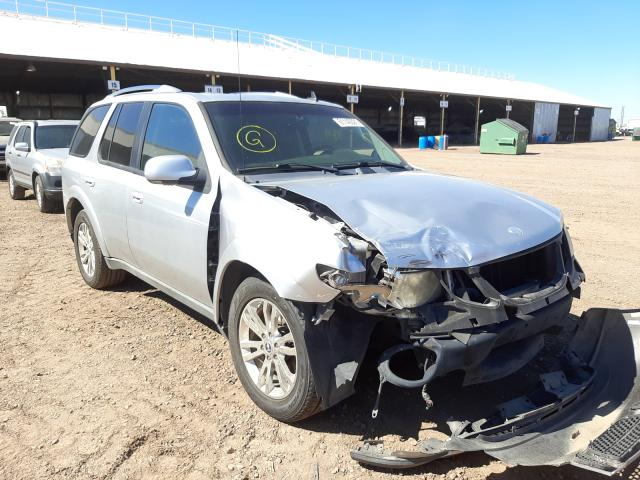 Salvage cars for sale from Copart Phoenix, AZ: 2009 Saab 9-7X 4.2I