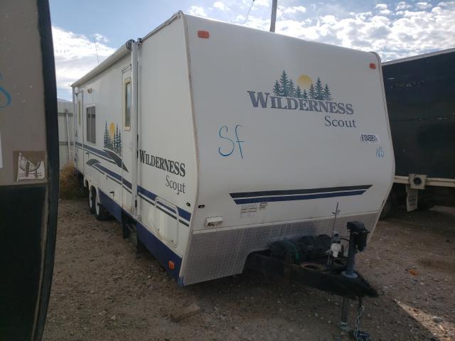 Fleetwood Wilderness salvage cars for sale: 2007 Fleetwood Wilderness