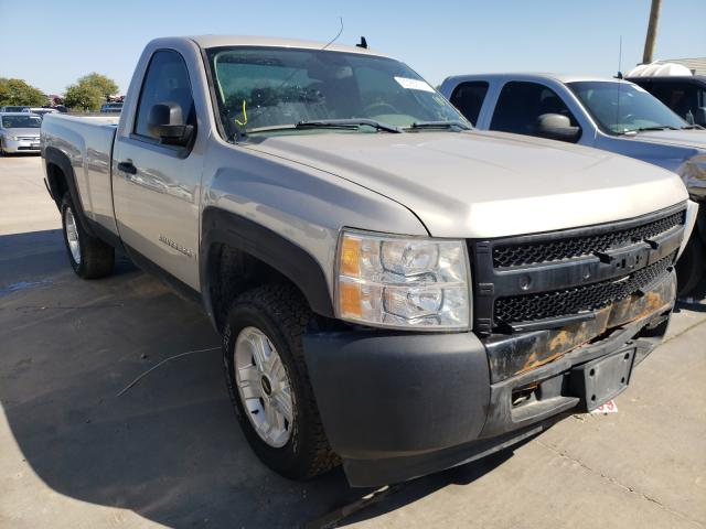 Salvage cars for sale from Copart Grand Prairie, TX: 2007 Chevrolet Silverado