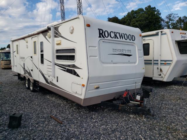 Rockwood salvage cars for sale: 2009 Rockwood Signature