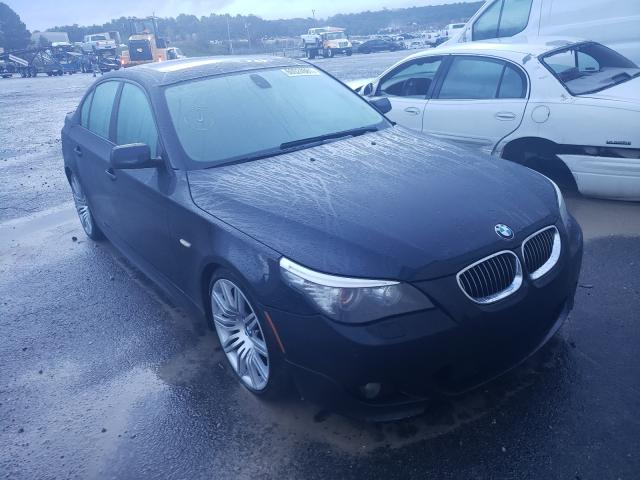 BMW salvage cars for sale: 2008 BMW 550 I