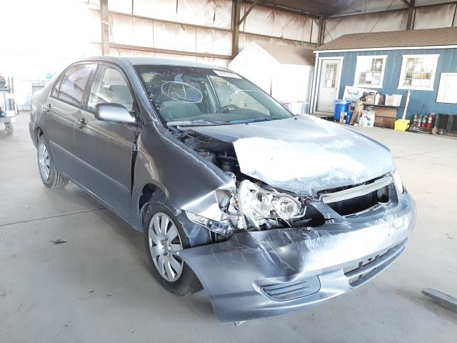Salvage cars for sale from Copart Phoenix, AZ: 2004 Toyota Corolla CE