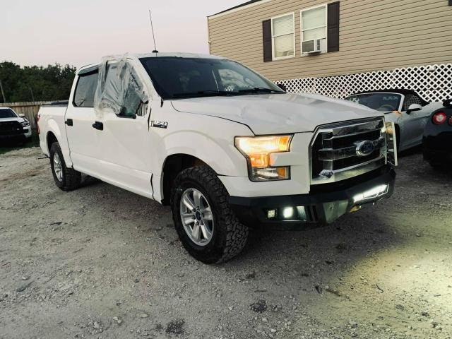 Salvage cars for sale from Copart Houston, TX: 2016 Ford F150 Super