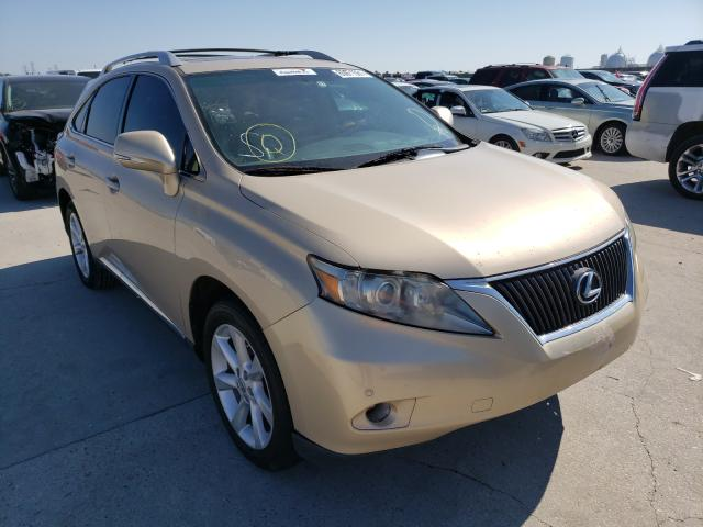 Salvage cars for sale from Copart New Orleans, LA: 2010 Lexus RX 350