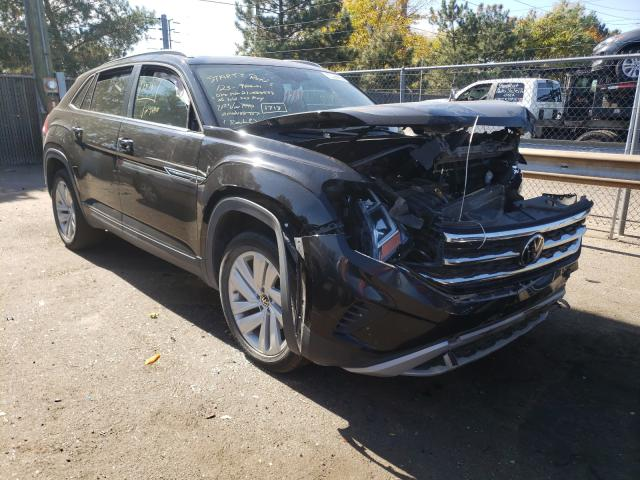 Salvage cars for sale from Copart Denver, CO: 2021 Volkswagen Atlas Cros