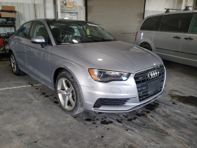 Salvage cars for sale from Copart Kansas City, KS: 2016 Audi A3 Premium
