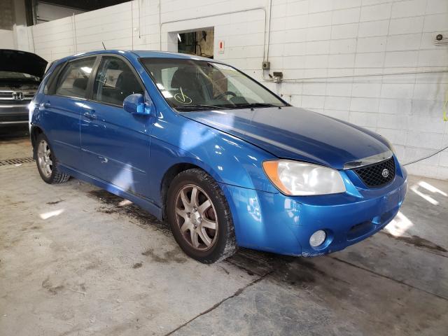 KIA SPECTRA5 salvage cars for sale: 2006 KIA SPECTRA5