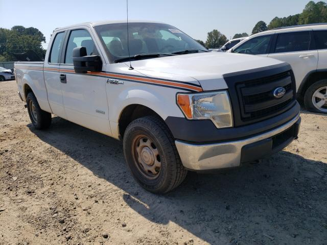 Salvage cars for sale at Conway, AR auction: 2014 Ford F150 Super