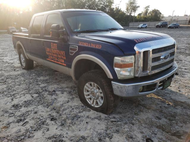 Salvage trucks for sale at Tifton, GA auction: 2008 Ford F250 Super