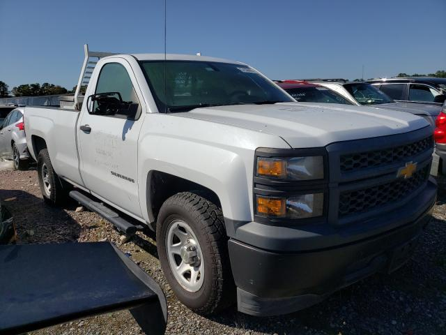 Salvage trucks for sale at Houston, TX auction: 2014 Chevrolet Silverado