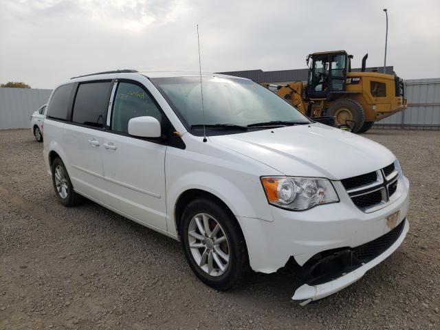 Vehiculos salvage en venta de Copart Bismarck, ND: 2014 Dodge Grand Caravan