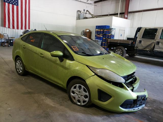 Salvage cars for sale from Copart Lufkin, TX: 2011 Ford Fiesta SE