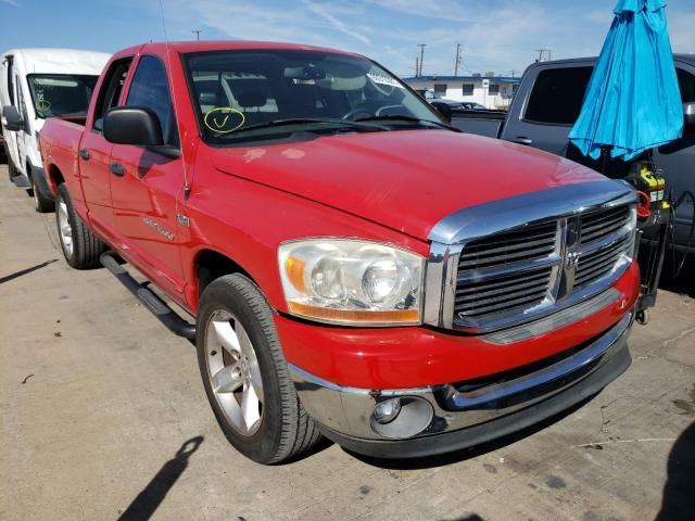 Salvage cars for sale from Copart Grand Prairie, TX: 2006 Dodge RAM 1500 S