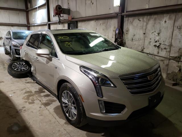 Cadillac salvage cars for sale: 2017 Cadillac XT5 Luxury