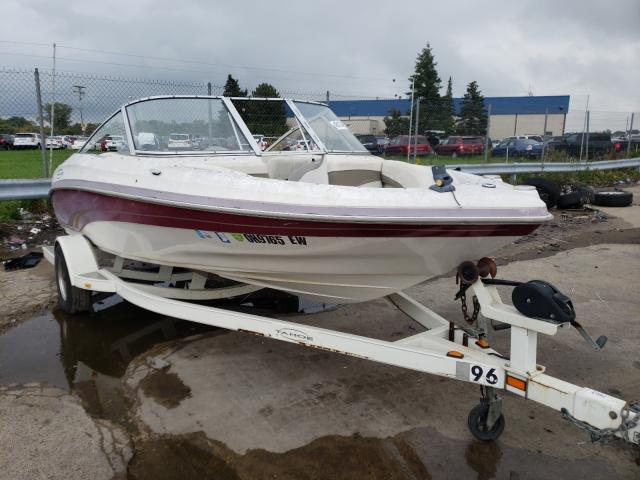 Tracker salvage cars for sale: 2002 Tracker Tahoe Boat