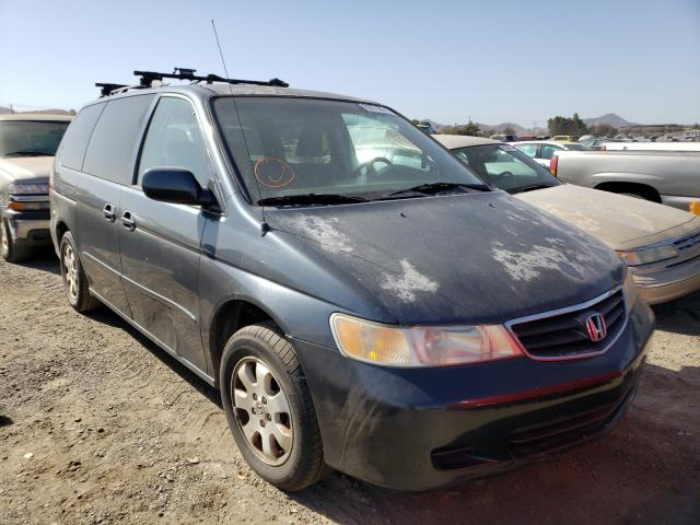 Salvage cars for sale from Copart San Martin, CA: 2003 Honda Odyssey EX