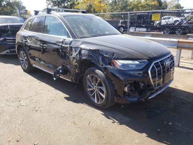 Salvage cars for sale from Copart Denver, CO: 2021 Audi Q5 Premium