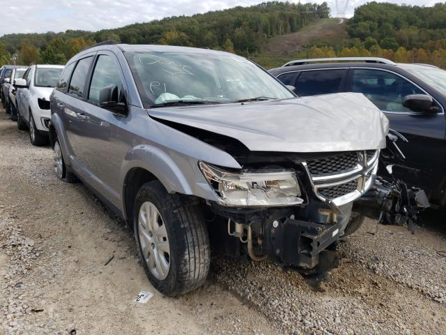 Salvage cars for sale at Hurricane, WV auction: 2017 Dodge Journey SE